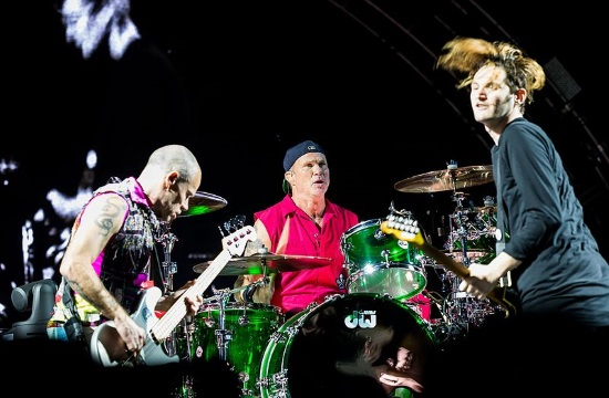 Red Hot Chilli Peppers live show in Greek capital of Athens on June 5, 2020