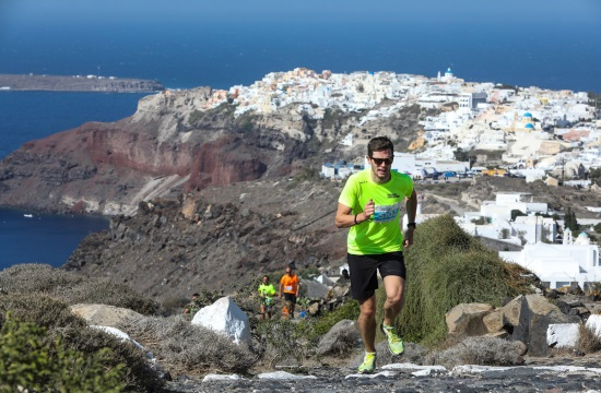 Run along the Caldera at the 5th Santorini Experience from October 4-6