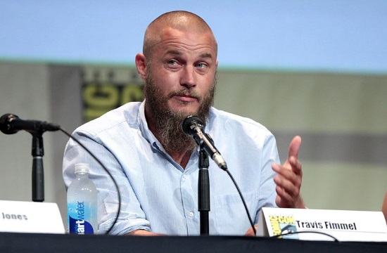 Vikings TV series star Ragnar Lothbrok visits Greece