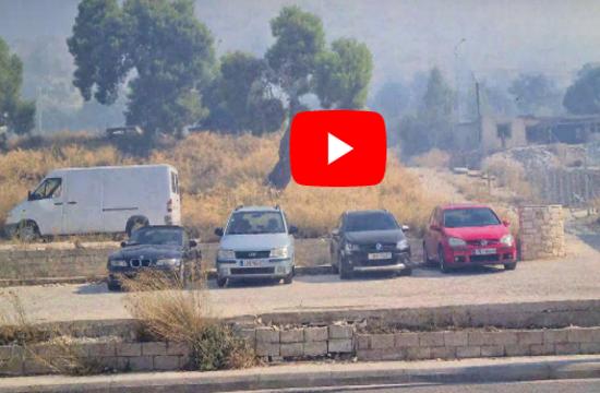 SOS Children's Villages evacuated due to Vari-Koropi fire in Attica