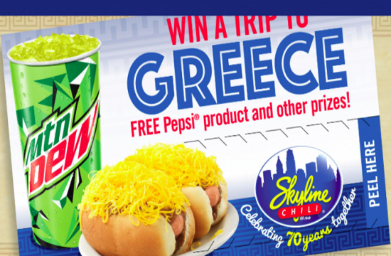 Cincinnati's Skyline Chili offer: Win a trip to Greece