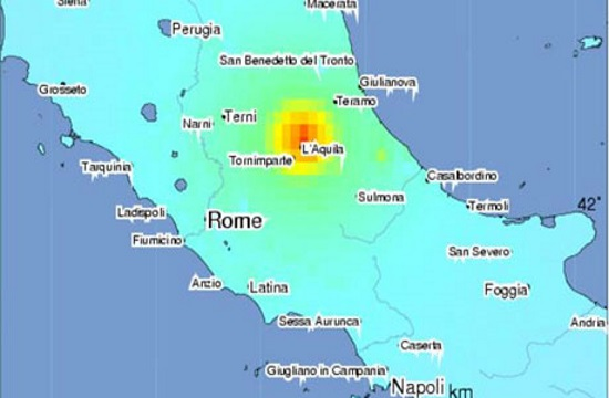 Multiple earthquakes hit central Italy