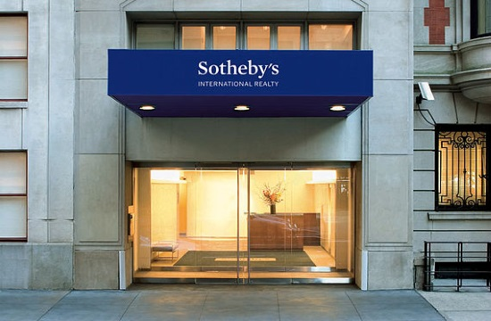 Sotheby's: Strong interest in luxury properties on Greek islands