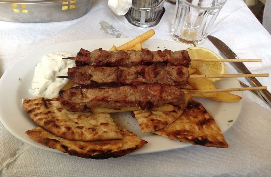 Traditional Greek fast food souvlaki price to increase by 10-15%