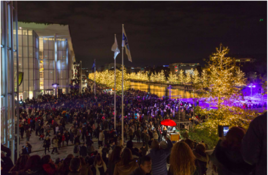 Stavros Niarchos Foundation Cultural Centre celebrates Christmas in Athens