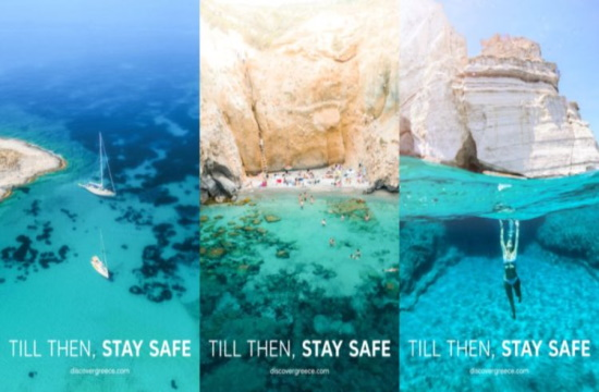 New Greek tourism campaign urges travelers to #staysafe and keep dreaming of Greece