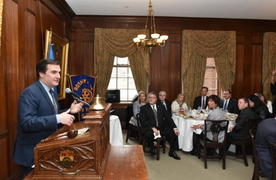 New York Rotary Club celebrates Greek Independence Day (video)