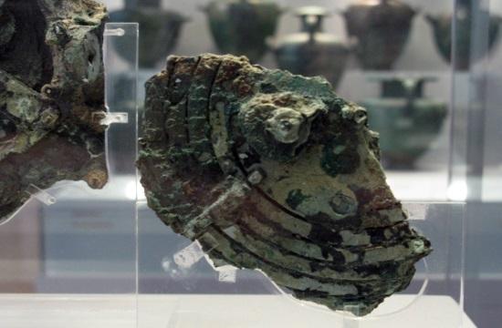 Greek Antikythera Wreck exhibition at Beijing's Forbidden City