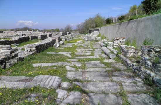 Via Egnatia festival in the footsteps of the ancient Roman road crossing Greece