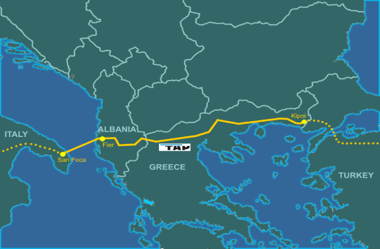 First 95 km of the TAP natural gas pipeline completed in 7 months