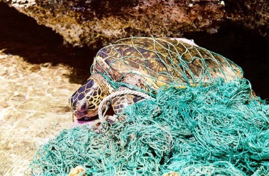 "Two tons of ""ghost nets"" removed from Greek seabed by Healthy Seas initiative"