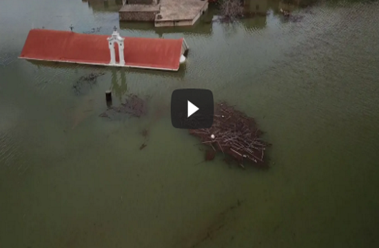 The 'Atlantis of Crete': The sinking village dips again (videos)