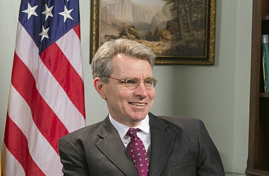 US Ambassador to Athens Pyatt: Greece is now a source of solutions