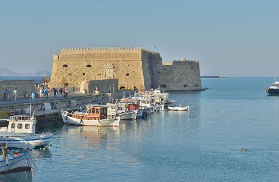 City of Heraklion in Greek island of Crete offers free tours to visitors