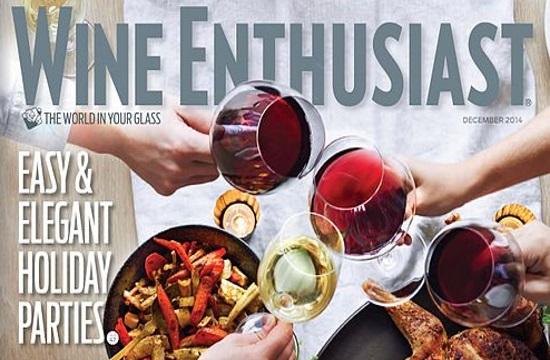 Wine enthusiast marks top-100 restaurant list in Manhattan