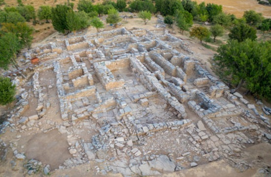 Ancient archives discovered at the palace complex of Zominthos in Crete