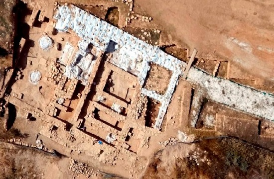5th century BC Pafos Acropolis of Cypro-Classical period discovered
