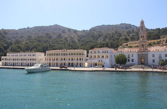 Religious Tourism: Monastery of Archangel Michael in Panormitis on Symi island