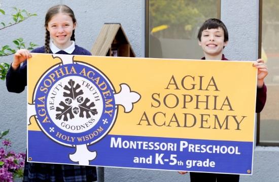 Greek Orthodox Agia Sophia Academy thrives in Portland Oregon