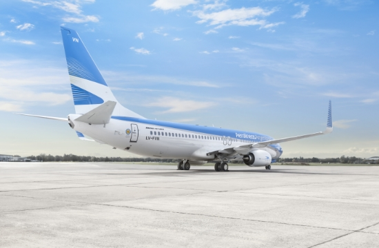 Discover the World represents Aerolíneas Argentinas in Greece and Cyprus