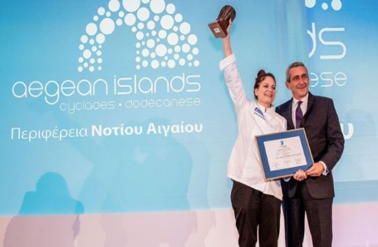 Greece's Irini Giorgoudiou wins 'European Young Chef Award' 2019