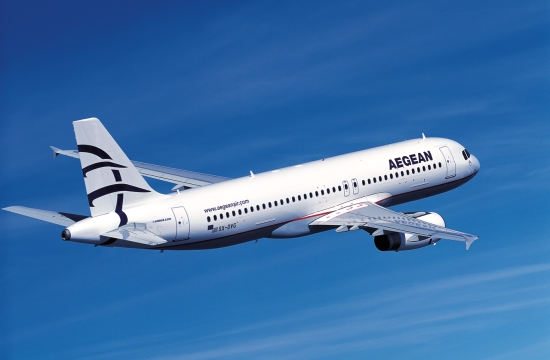 Aegean Airlines receives first A321neo aircraft at Athens airport