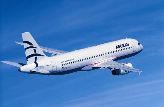 Conde Nast readers name Greece's Aegean 5th best airline in the world