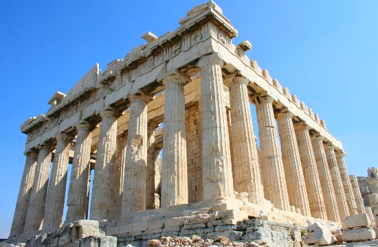 Athens Acropolis Parthenon elected most beautiful building in the world by architects