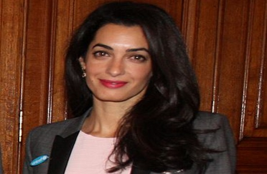 Amal Alamuddin Clooney spotted at Serres hotspot in Greece (video)