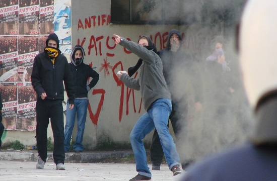 Riots in Athens after the march in memory of slain youth (video)