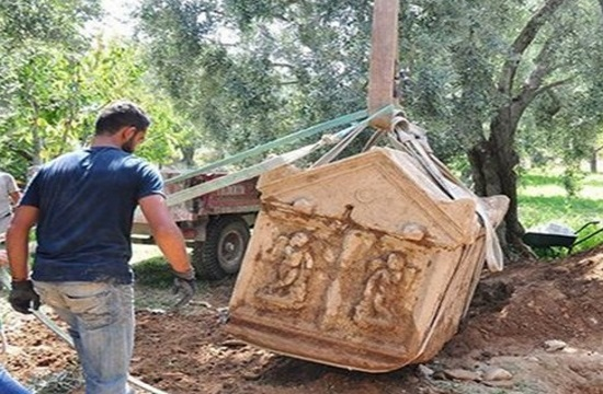 Three ancient tombs of Greek gods found in Bursa, Turkey