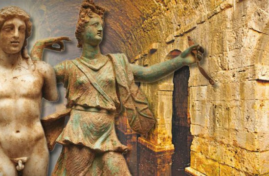 Exquisite Artemis and Apollo statues unearthed at ancient Roman home excavation in Crete