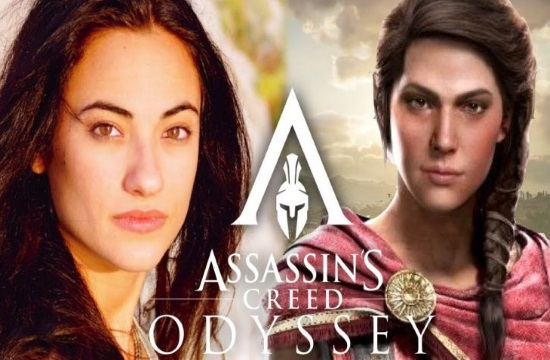 Two Greek actors behind Assassin's Creed: Odyssey computer game (video)