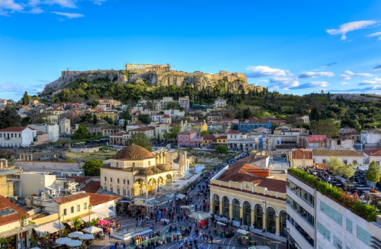 Athens among top-50 tourist destinations for milennials in the world