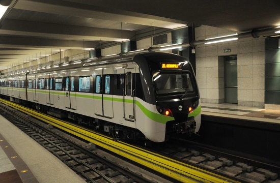 Tram and Athens metro workers strike from noon until 15:00 on Friday