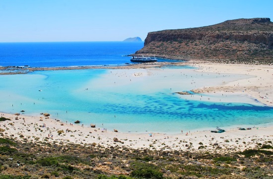 The most exotic beaches of Chania in the Greek island of Crete