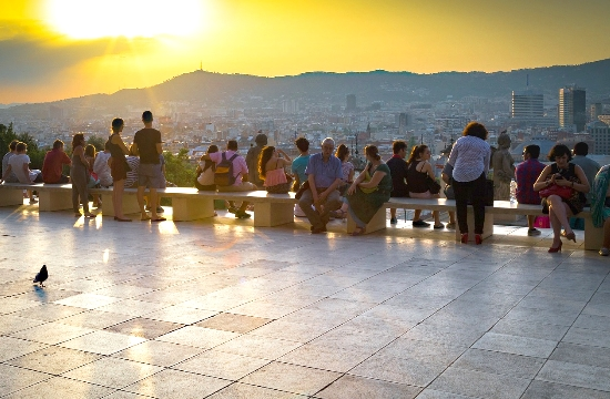 AP: Barcelona locals reclaim city from visitors during Covid-19 pandemic