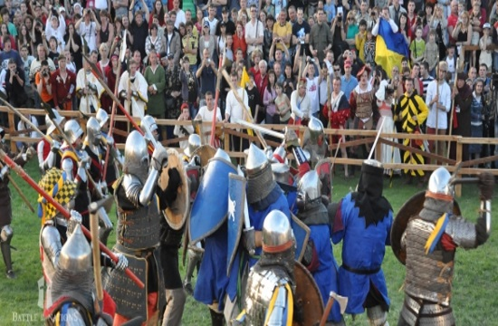 Battle of the Nations: Real medieval warfare games with weapons (video)