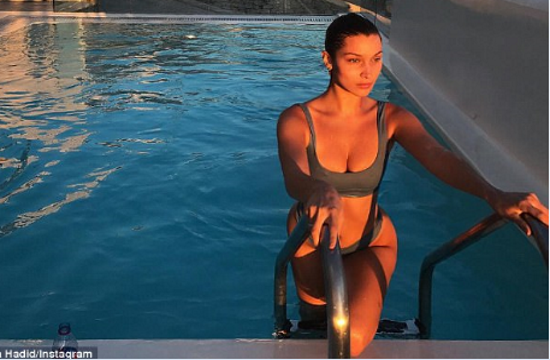 Bella Hadid and Kendall Janner's Greek vacations photos in Greece