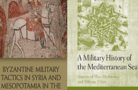 Two new English books on Byzantium and Mediterranean history by a Greek