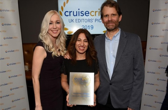 International distinction awarded to Piraeus-based Celestyal Cruises