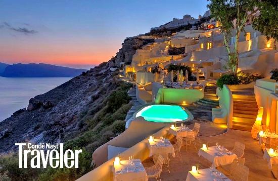 Santorini Cliff Hotel Mystique Among Top 10 In Conde Nast Traveler List