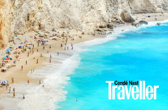 Conde Nast Traveller: Porto Katsiki and Oia in 50 most beautiful places in Europe