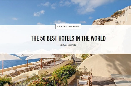 Top 10 Hotels In Greece At Conde Nast Traveler S Readers Choice Awards 2017
