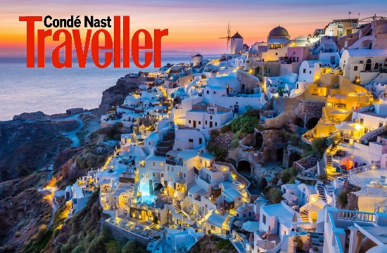 CNT Santorini Among The 50 Most Beautiful Places In World