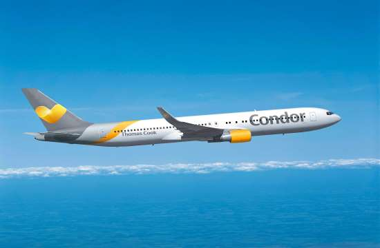 Condor launches new flights to Greece from Hannover for summer 2019
