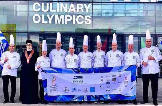 Greek chefs win bronze medal in culinary Olympics 2020
