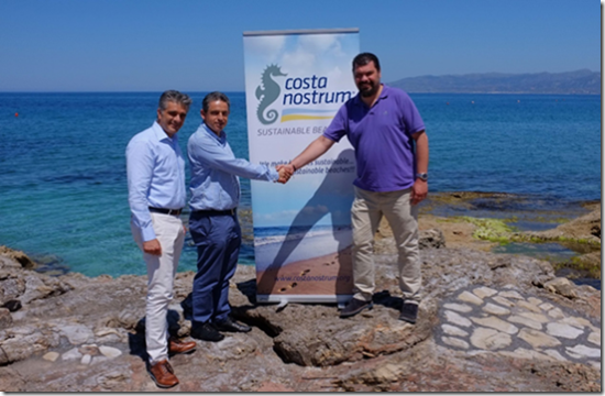 Creta Maris beach to be certified as Costa Nostrum Sustainable Beach of the Mediterranean Sea