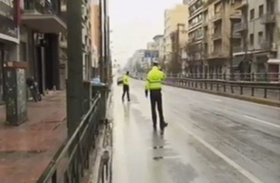 Coronavirus curfew in effect since 6am throughout Greece (videos)