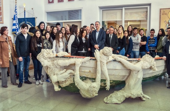 Cypriot Art Project 'Immigrants' receives top prize in London competition